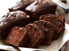 Featured Image for post Chocolate Chocolate Chip Zucchini Bread