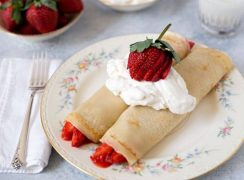 Featured Image for post Easy Strawberry Crepes Recipe