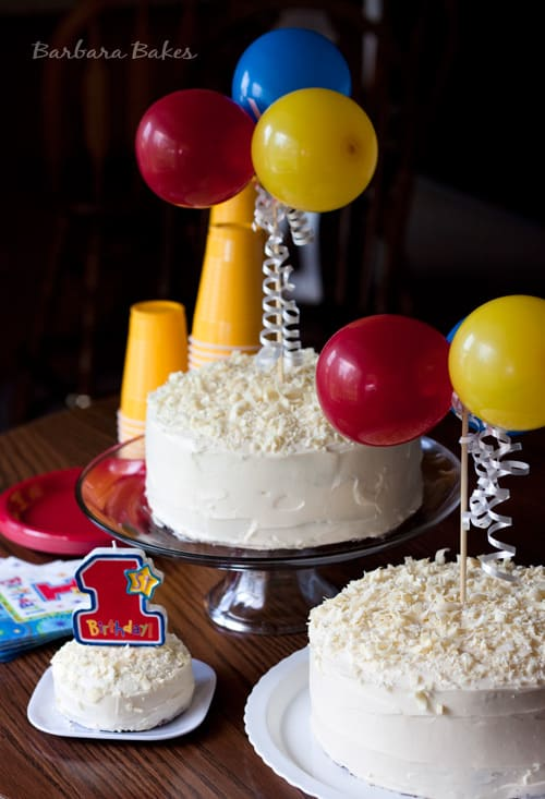 Smash Cake for a First Birthday Party