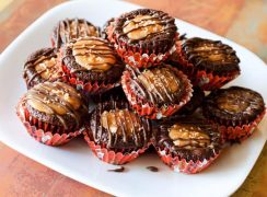 Featured Image for post Caramel Delight Brownie Bites