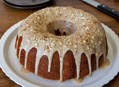 Featured image of Pumpkin Sour Cream Streusel Coffee Cake