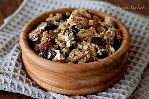 Featured Image for post Coconut Granola Clusters