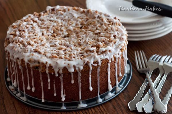 Cranberry Sweet Potato Crumb Cake