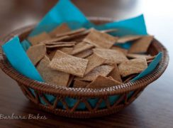 Featured Image for post Homemade Wheat Thin Crackers