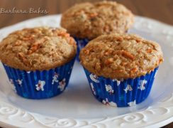 Featured Image for post Whole Wheat Carrot Raisin Muffins