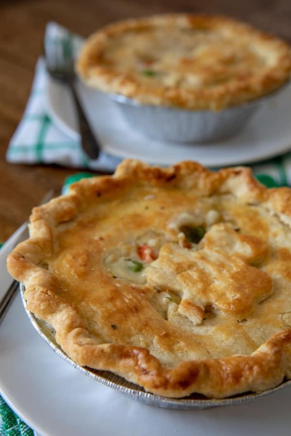 closeup of Chicken-Pot-Pie-St-Patricks-Day-Barbara-Bakes