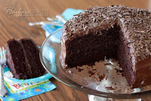Featured Image for post Black Magic Cake