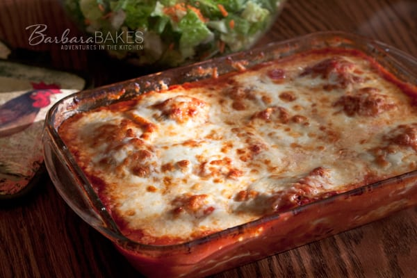 Featured Image for post Baked Caprese Ravioli