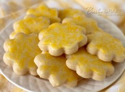 Featured Image for post Lemon Shortbread Cookies