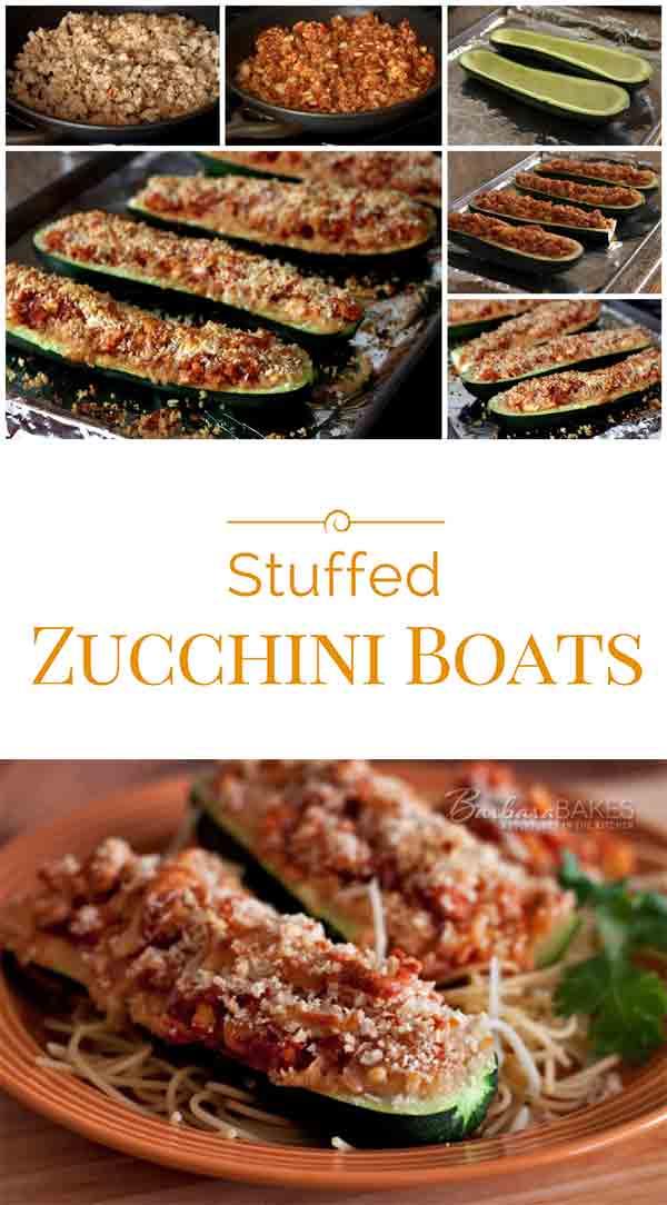 Stuffed-Zucchini-Boats-Collage