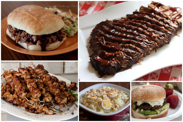 Featured Image Collage for post 50+ Mouth-watering Labor Day Recipes (ID