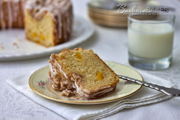 Featured Image for post Fresh Peach Coffee Cake