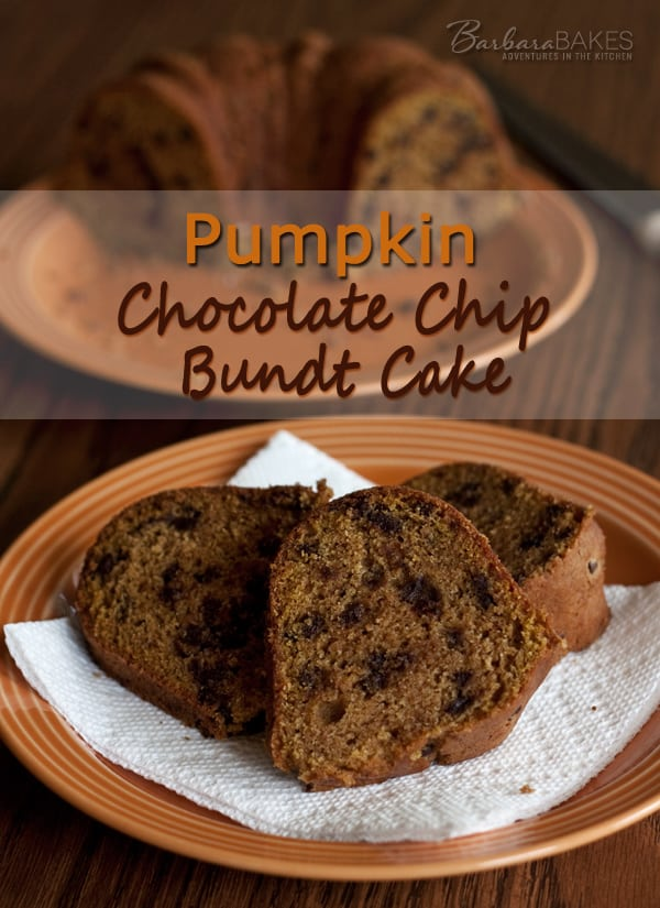 Featured Image for post Pumpkin Chocolate Chip Bundt Cake