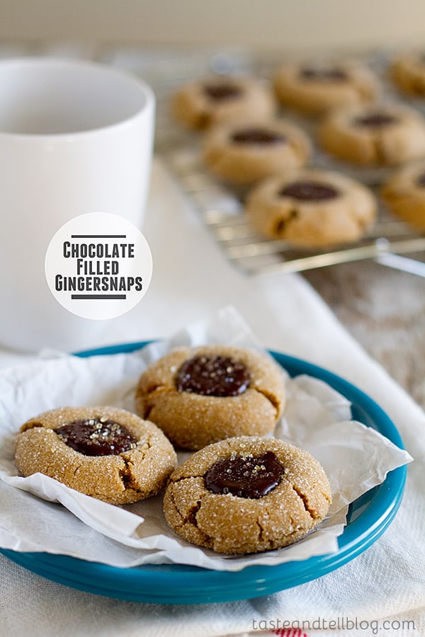 Featured Image for post Chocolate Filled Gingersnaps