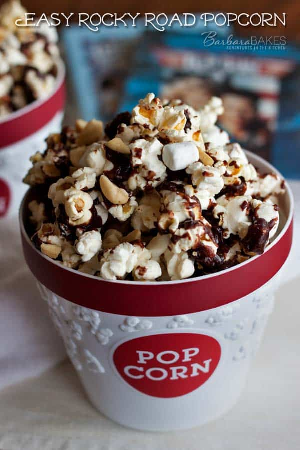 Featured Image for post Easy Rocky Road Popcorn