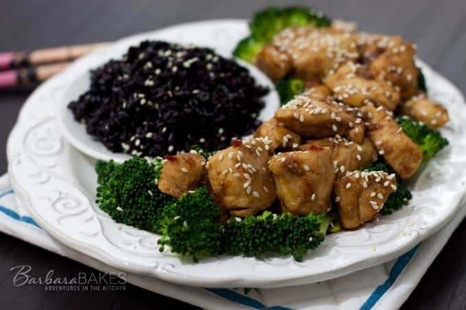 Featured Image for post Easy Spicy Orange Chicken