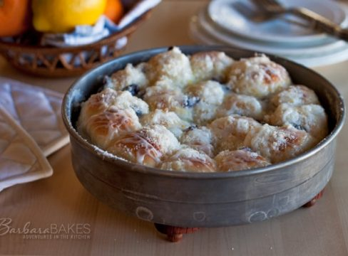Featured Image for post Citrus Cream Cheese Pull Apart Rolls