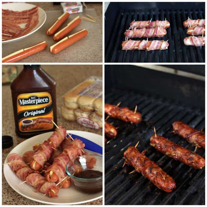 BBQ-Bacon-Wrapped-Hot-Dogs-Collage-Barbara-Bakes