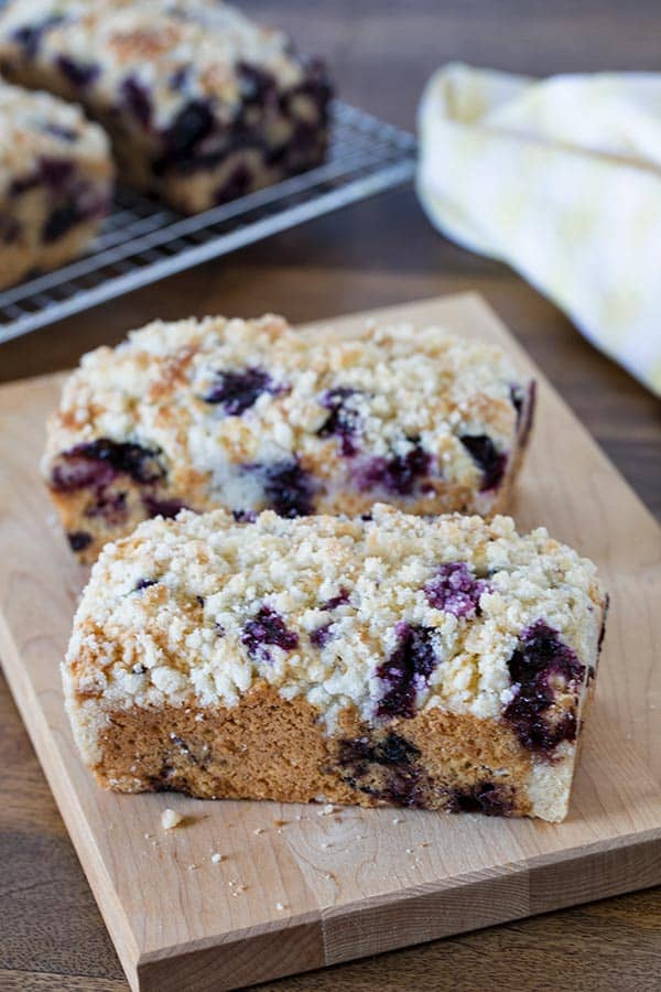 Lemon-Blueberry-Quick-Bread-With-Streusel-Topping. Kind of a cross between a blueberry muffin and a blueberry coffee cake.