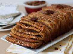 Featured Image for post Whole Wheat Caramel Pecan Pull-Apart Bread