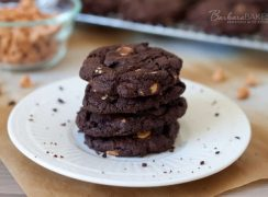 Featured Image for post Chocolate Peanut Butter Chip Cookies