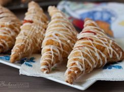 Featured Image in post for Strawberry Rhubarb Puff Pastry Turnovers