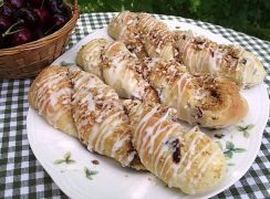 Featured Image for post Cherry Almond Cheesecake Twists