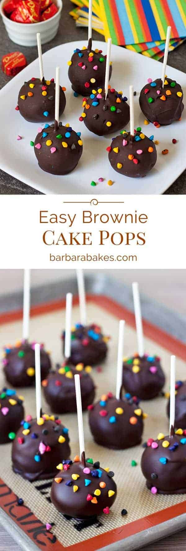 Easy-Brownie-Cake-Pops-Pinterest-Collage