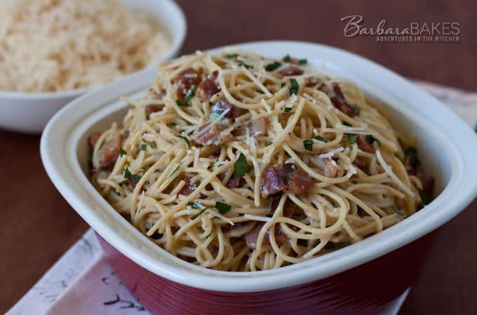 Featured Image for post Pasta Carbonara