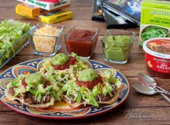 Featured Image for post Quick Black Bean and Green Chili Tostadas