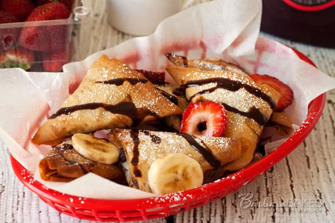 Featured Image for post Baked Nutella Turnovers
