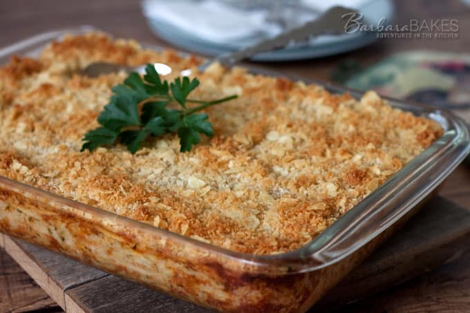 Featured Image for post Funeral Potatoes – A Cheesy Hash Brown Casserole