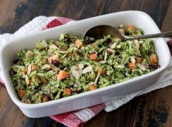 Featured Image for post - Broccoli Slaw Salad