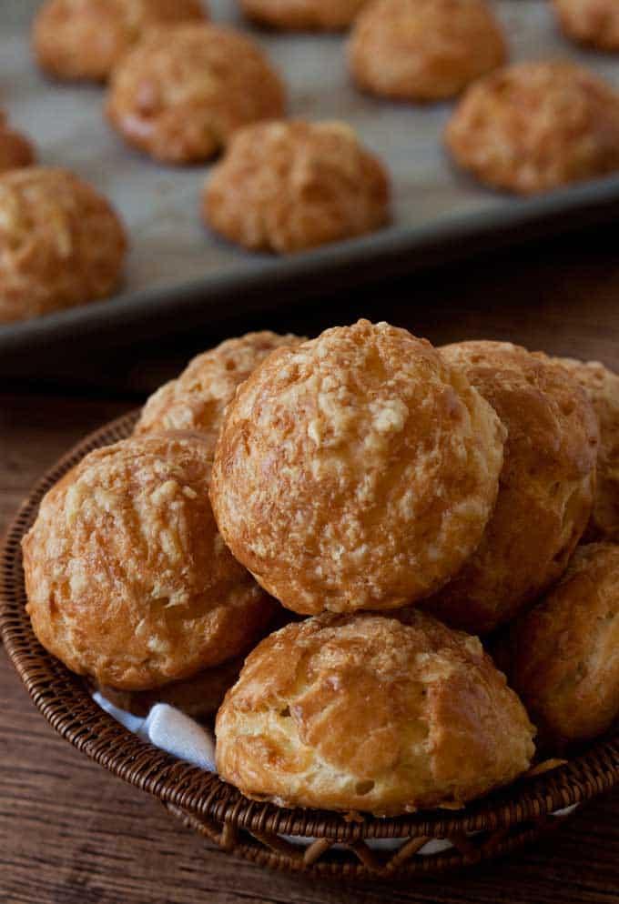 Savory Cream Puffs – Gougeres