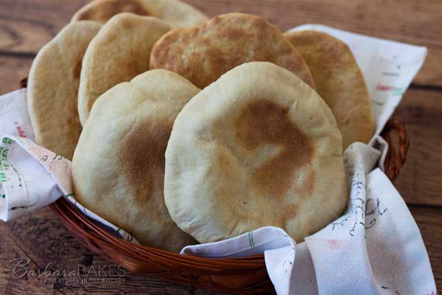 Featured Image for Whole Wheat Pita Bread Recipe