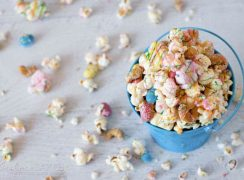 Featured Image for post Easter Rocky Road Popcorn