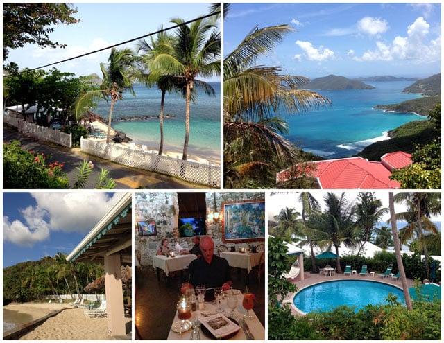 The Sugar Mill Hotel on the Island of Tortola, BVI