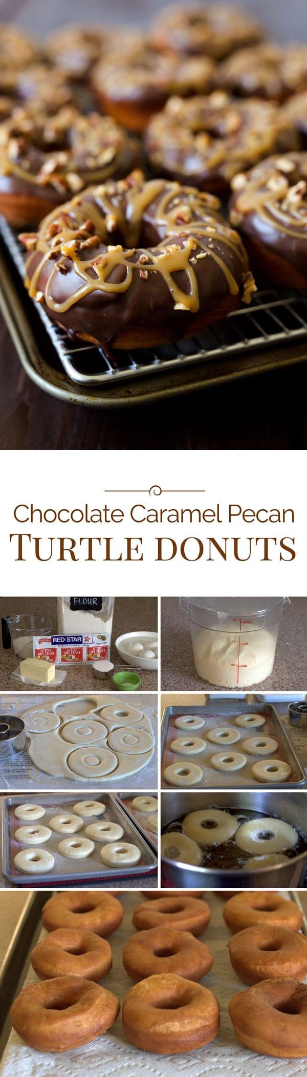 Chocolate-Caramel-Pecan-Doughnuts-Collage-Barbara-Bakes