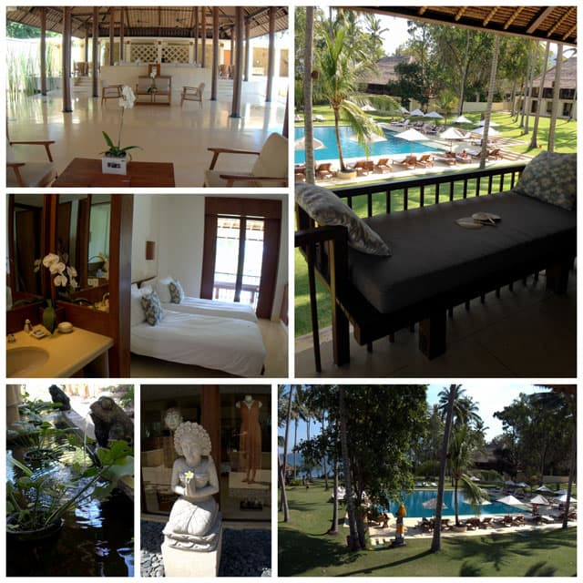 Photo collage from Alila Manngis hotel