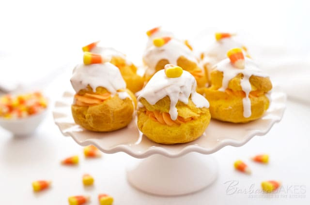 Featured Image for post Candy Corn Cream Puffs