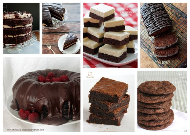 Featured Image for post Chocolate Chocolate and More Recipe Roundup