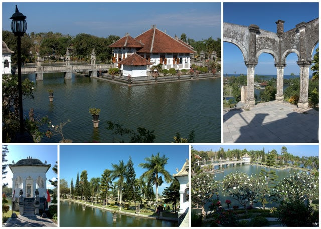 Collage from the Ujung Water Palace