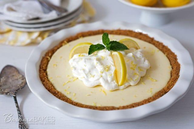 Featured Image for post Creamy Lemon Yogurt Pie