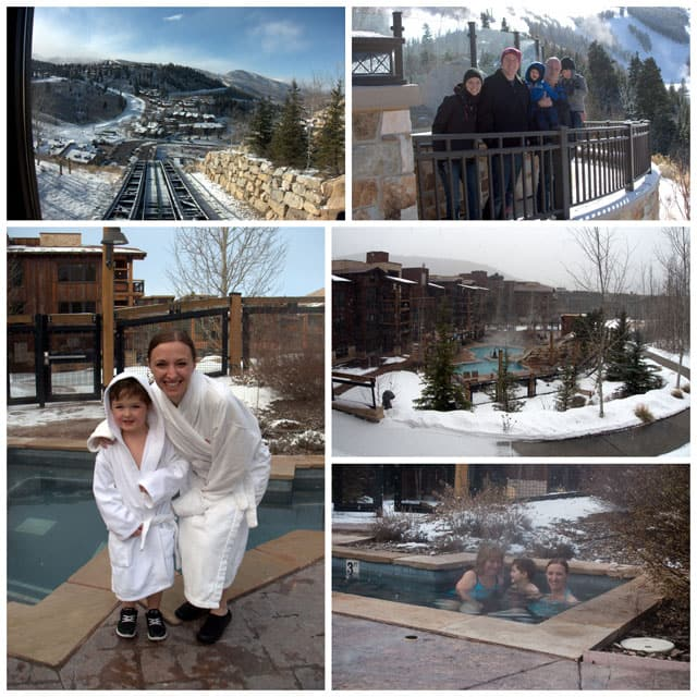Photo collage from Silver-Baron-Lodge-Pool-Deer-Valley-Resort