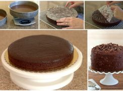 Featured Image Collage for post Baking Tips for Layer Cakes