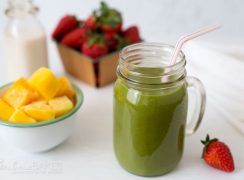 Featured Image for post Pink Flamango Smoothie