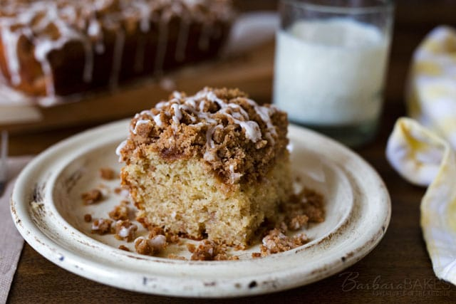 Featured Image for post Buttermilk Banana Crumb Cake