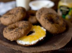 Featured Image for post Lemon Poppy Seed Sprouted Wheat Bagels