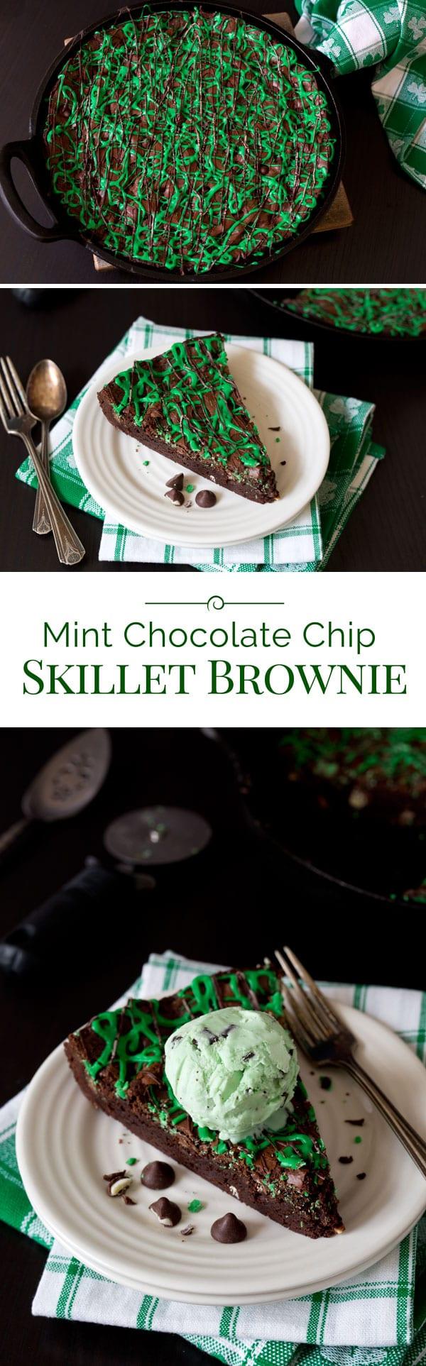 Mint-Chocolate-Chip-Skillet-Brownie-Collage-2-Barbara-Bakes
