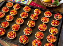 Featured Image for post - Strawberry Mango Salsa Cups